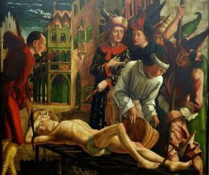 8-pacher-1480-martirio-de-san-lorenzo