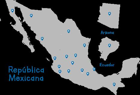 mapa sec
