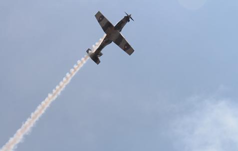 Espectáculo aéreo FAMEX 2017 (Fuente: FAMEX)