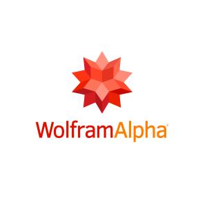 Logo de wolframAlpha.
