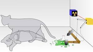 Demostración de la paradoja de Schrödinger ó también llamada el Gato de Schrödinger